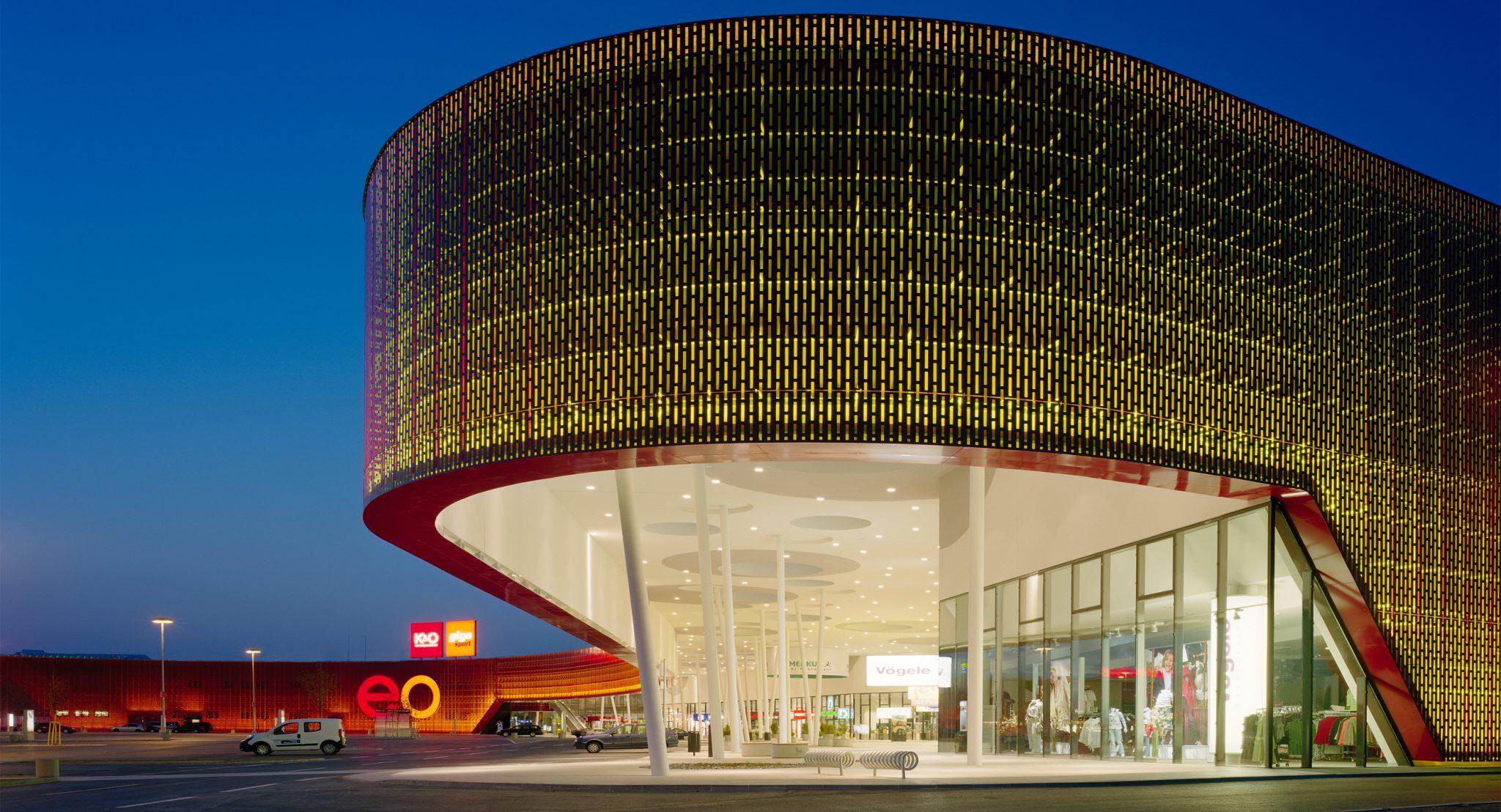 Shopping Mall EO in Oberwart: Austria's First Power Centre