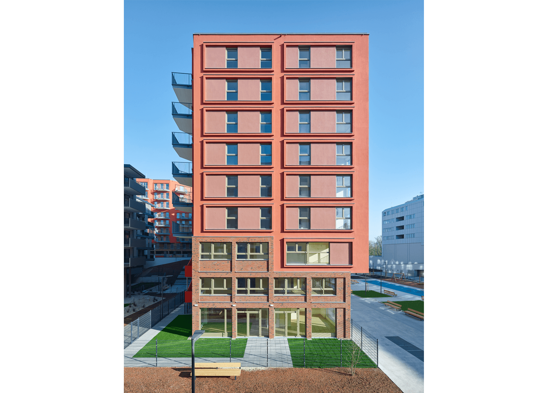 Residential Complex THE ENSEMBLE - BEHF Architects