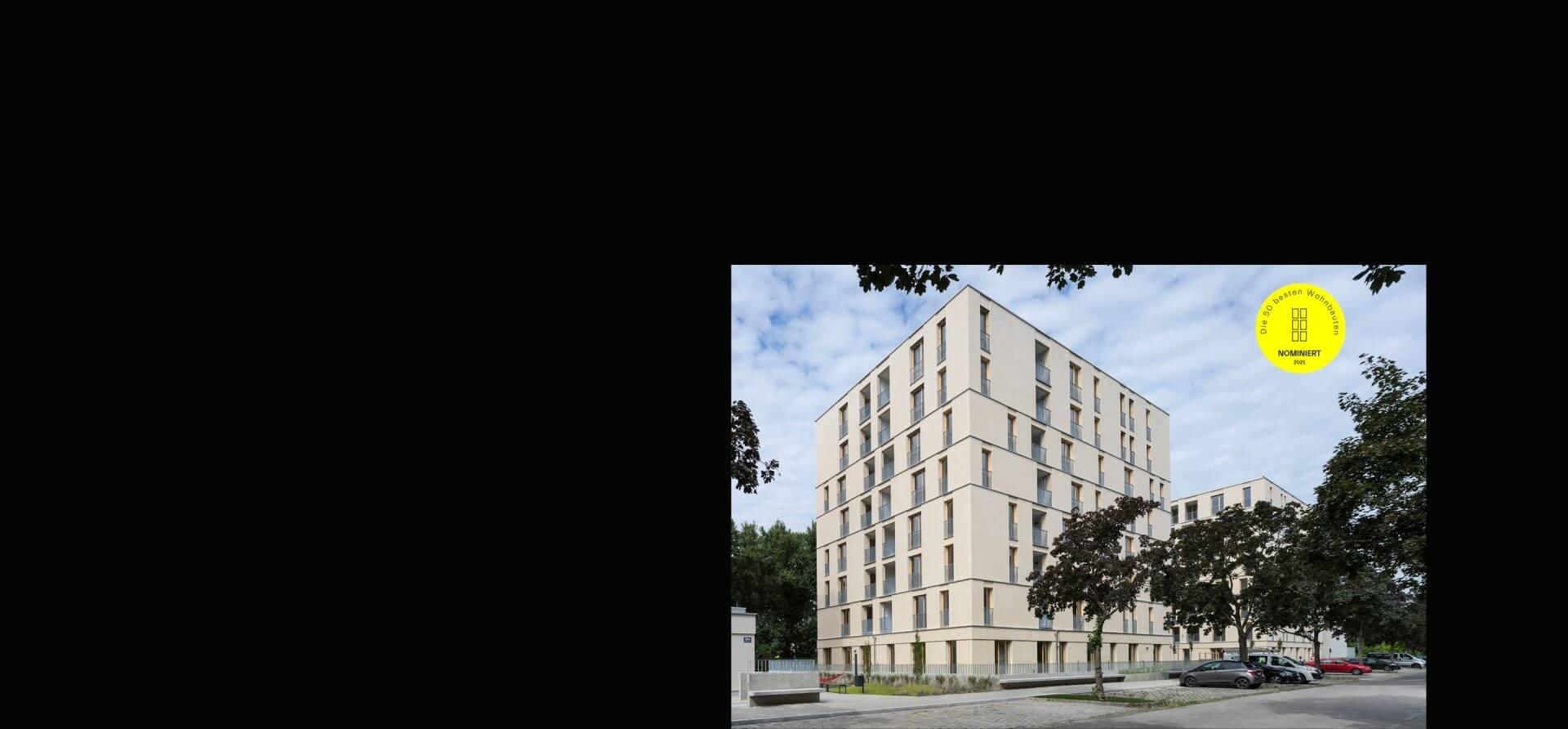 Wohnbauten des Jahres 2021